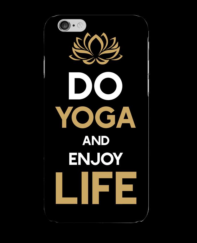 Carcasa  Iphone 6 Yoga Enjoy Life por Original t-shirt