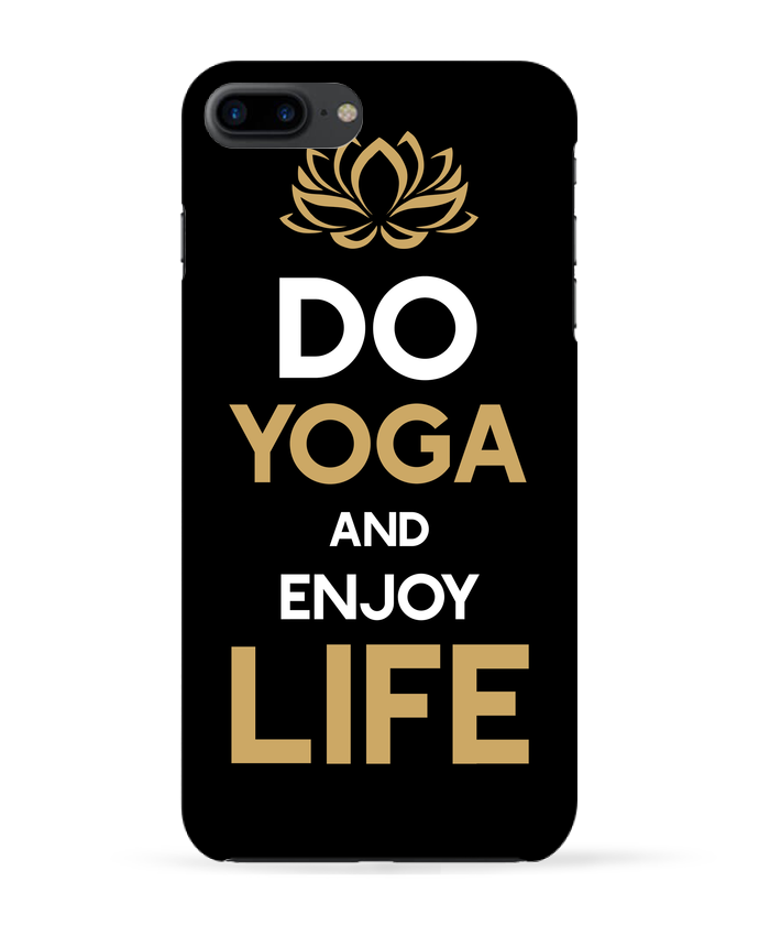Carcasa Iphone 7+ Yoga Enjoy Life por Original t-shirt