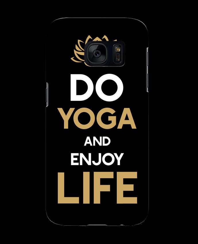 Carcasa Samsung Galaxy S7 Yoga Enjoy Life por Original t-shirt