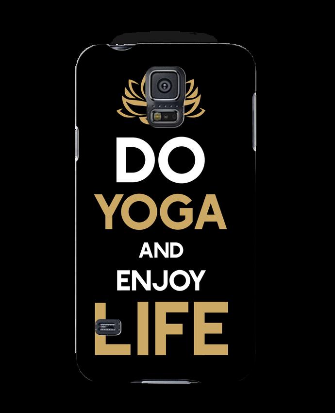 Carcasa Samsung Galaxy S5 Yoga Enjoy Life por Original t-shirt