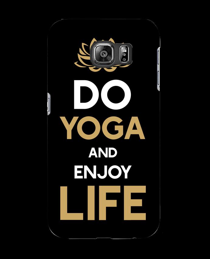 Carcasa Samsung Galaxy S6 Yoga Enjoy Life - Original t-shirt