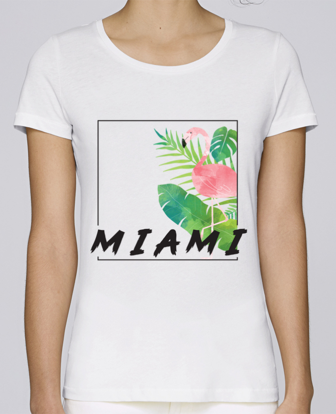 Camiseta Mujer Stellla Loves Miami por KOIOS design