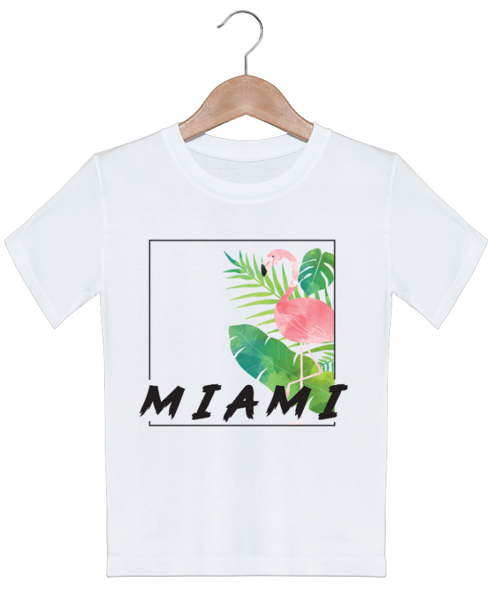 T-shirt garçon motif Miami KOIOS design