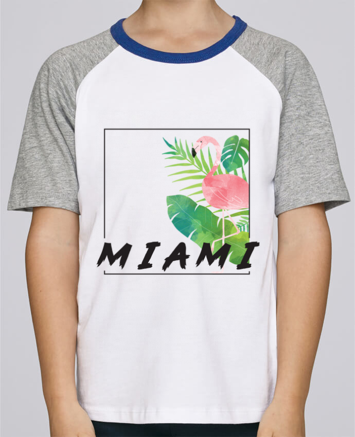 T-shirt fille Baseball Miami por KOIOS design