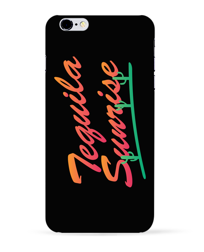 Carcasa Iphone 6+ Tequila Sunrise de tunetoo