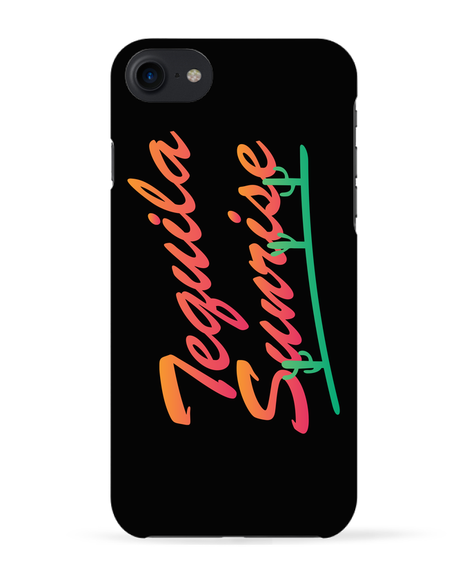 Carcasa Iphone 7 Tequila Sunrise de tunetoo
