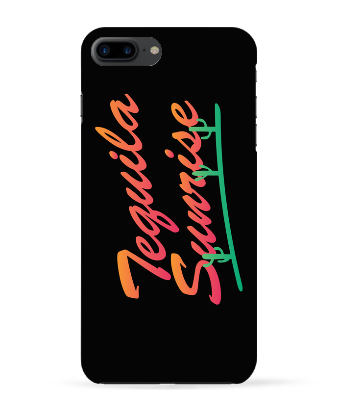 Carcasa 3D Iphone 7+ Tequila Sunrise por tunetoo