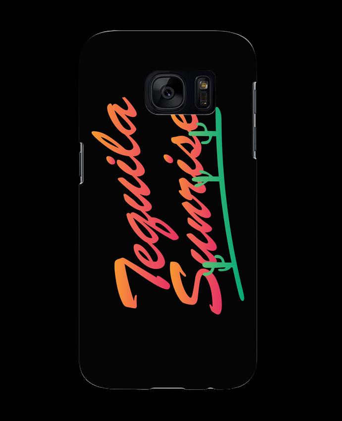 Carcasa Samsung Galaxy S7 Tequila Sunrise por tunetoo