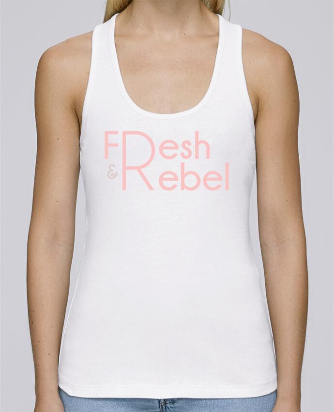 Camiseta de tirantes algodón orgánico mujer Stella Dreams Fresh and Rebel por tunetoo en coton Bio