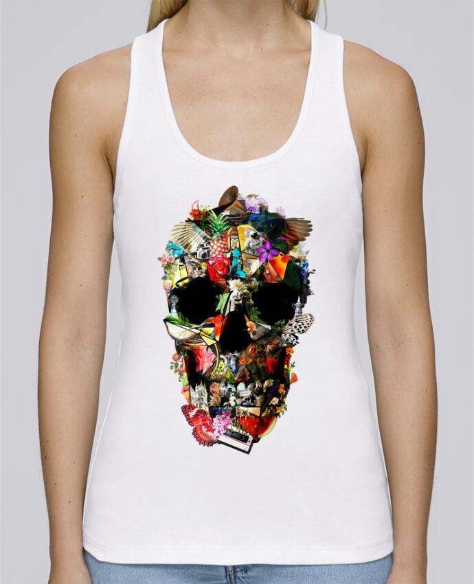 Camiseta de tirantes algodón orgánico mujer Stella Dreams Fragile por ali_gulec en coton Bio