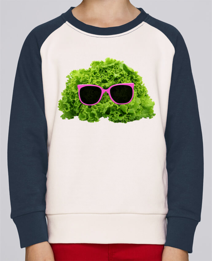 Sweat petite fille Mr Salad por Florent Bodart