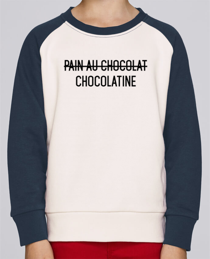 Sweat petite fille Chocolatine por tunetoo