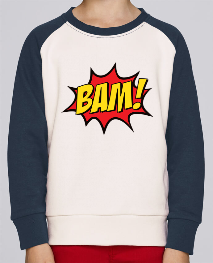 Sweat petite fille BAM ! por Freeyourshirt.com