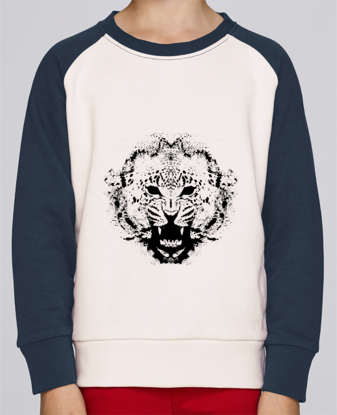Sweat petite fille leopord por Graff4Art