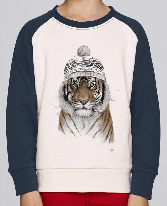 Sweat petite fille Siberian tiger por Balàzs Solti