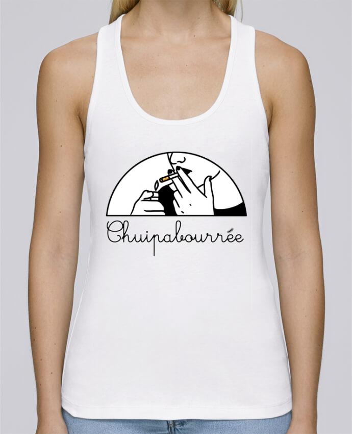 Camiseta de tirantes algodón orgánico mujer Stella Dreams Chuipabourrée por tattooanshort en coton Bio