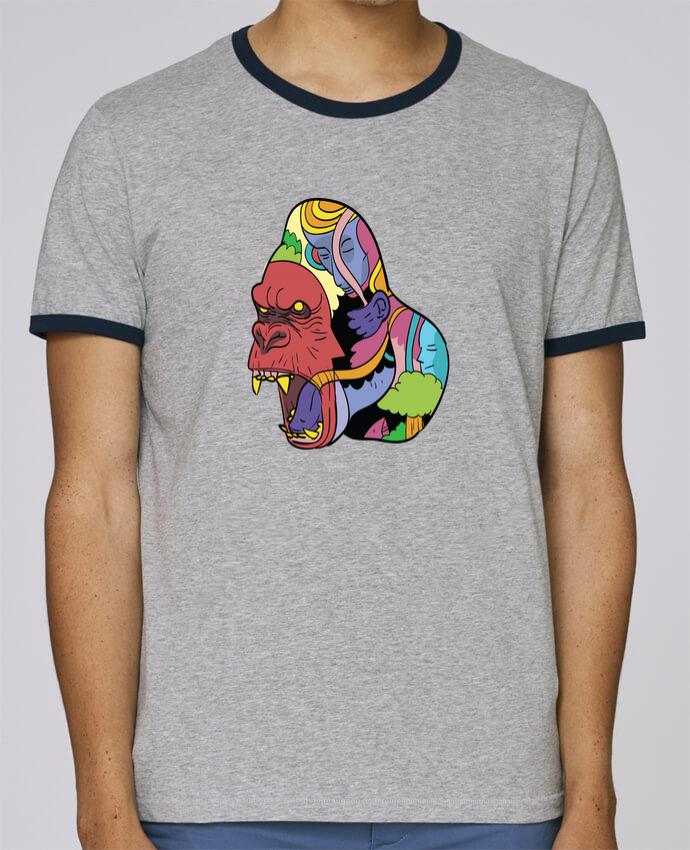 Camiseta Bordes Contrastados Hombre Stanley Holds wrathofnature pour femme por Arya Mularama