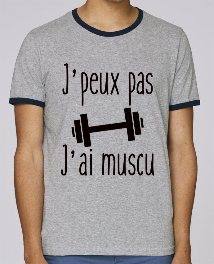 Camiseta Bordes Contrastados Hombre Stanley Holds J'peux pas j'ai muscu pour femme por Benichan