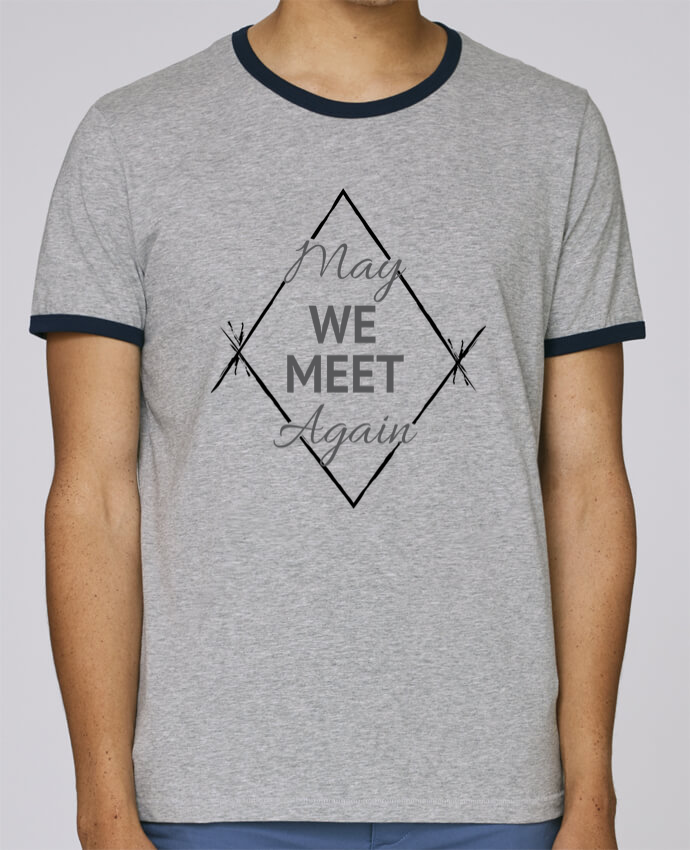 Camiseta Bordes Contrastados Hombre Stanley Holds May We Meet Again pour femme por CycieAndThings