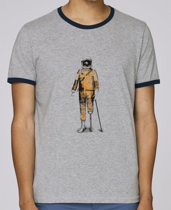 Camiseta Bordes Contrastados Hombre Stanley Holds Astropirate pour femme por Florent Bodart