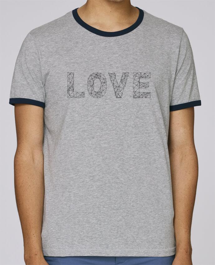 Camiseta Bordes Contrastados Hombre Stanley Holds Love pour femme por na.hili