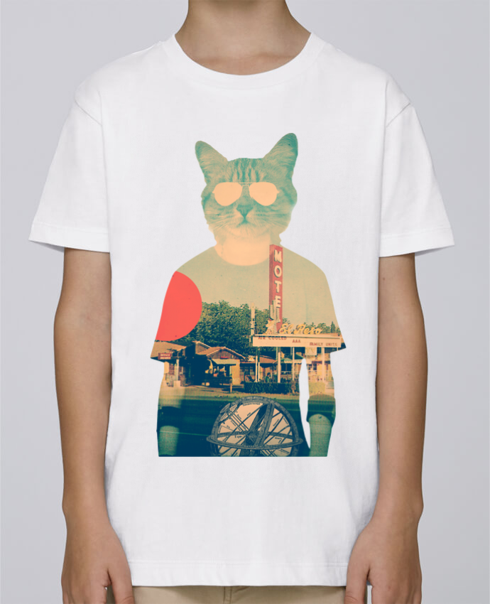 Camiseta de cuello redondo Stanley Mini Paint Cool cat por ali_gulec