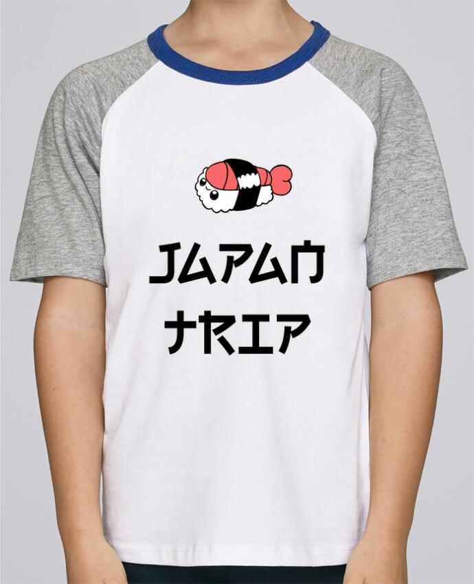 Camiseta de manga ranglan corta en contraste Stanley Mini Jump Short Sleeve Japan Trip por tunetoo