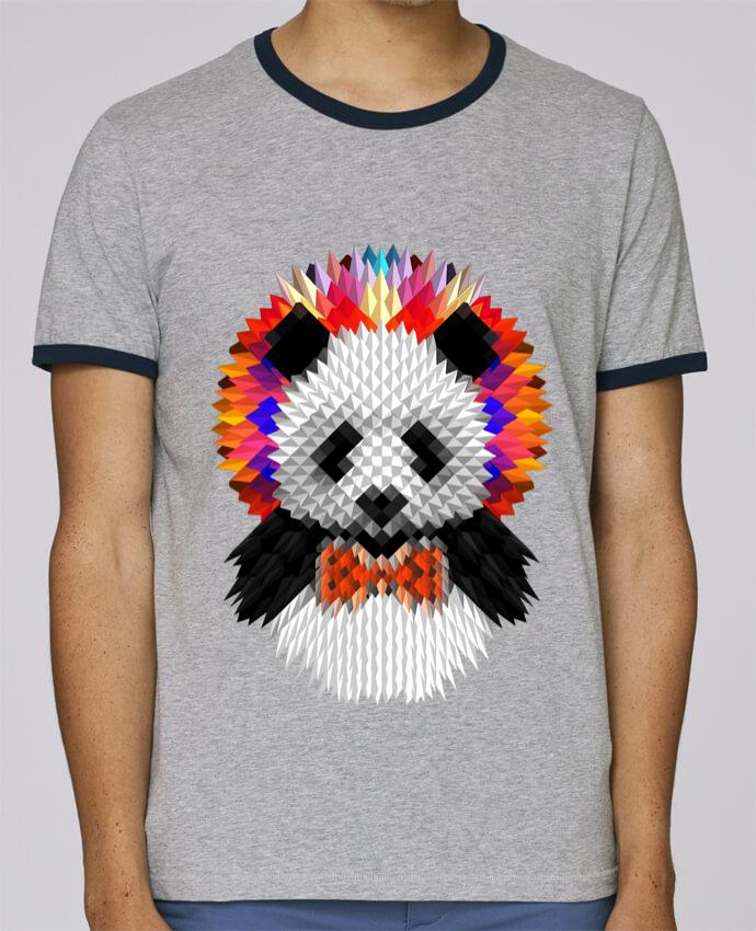 Camiseta Bordes Contrastados Hombre Stanley Holds Panda pour femme por ali_gulec