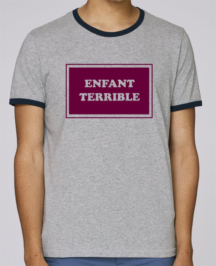 Camiseta Bordes Contrastados Hombre Stanley Holds Enfant terrible pour femme por tunetoo