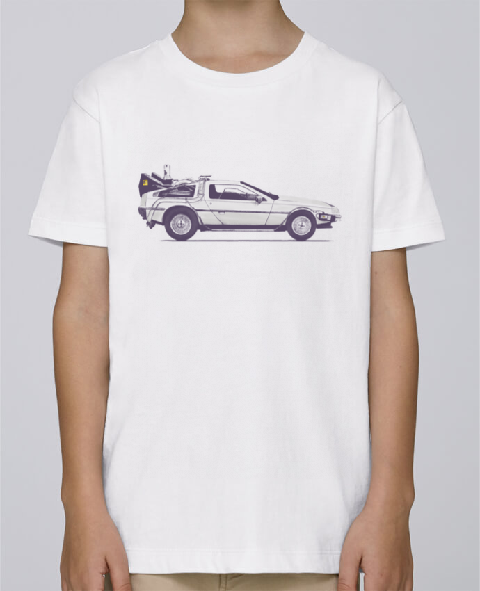 Camiseta de cuello redondo Stanley Mini Paint Dolorean por Florent Bodart