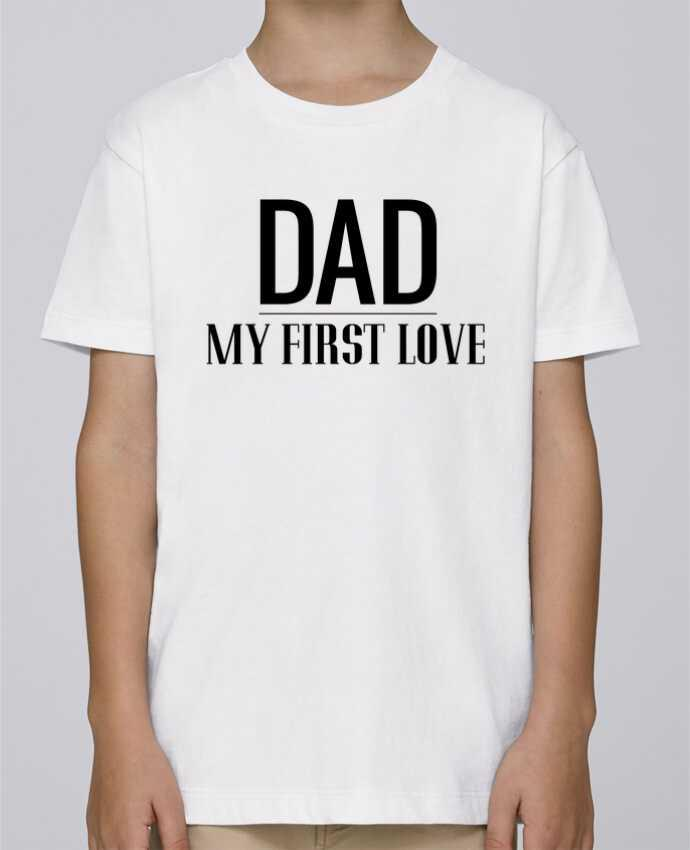 Camiseta de cuello redondo Stanley Mini Paint Dad my first love por tunetoo