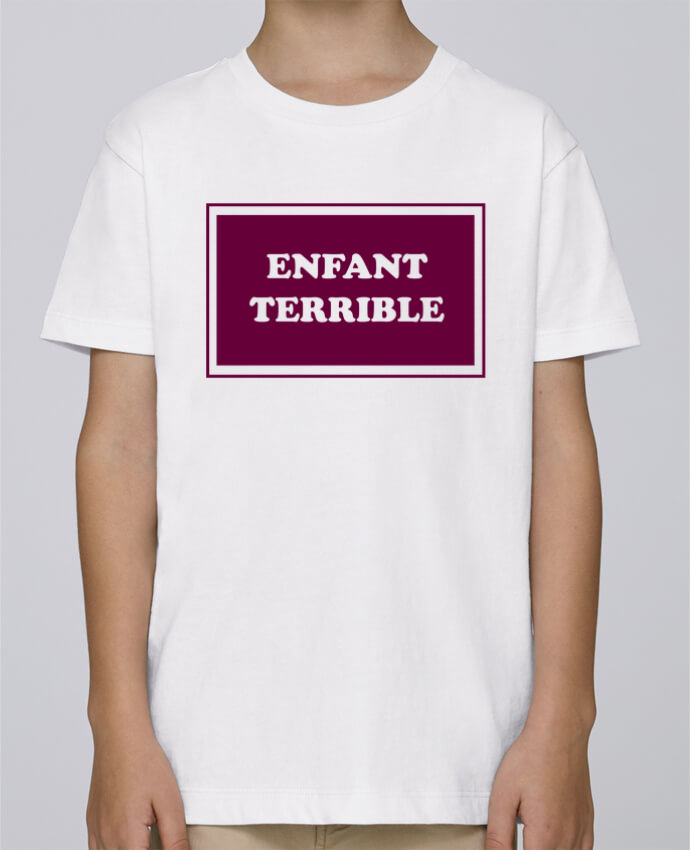 Camiseta de cuello redondo Stanley Mini Paint Enfant terrible por tunetoo