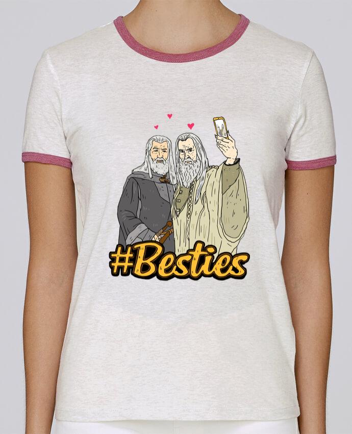 Camiseta Mujer Stella Returns #Besties Seigneur des anneaux pour femme por Nick cocozza