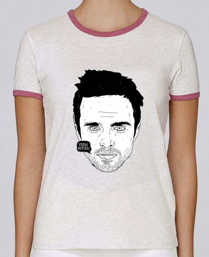 Camiseta Mujer Stella Returns Jesse Pinkman pour femme por Nick cocozza