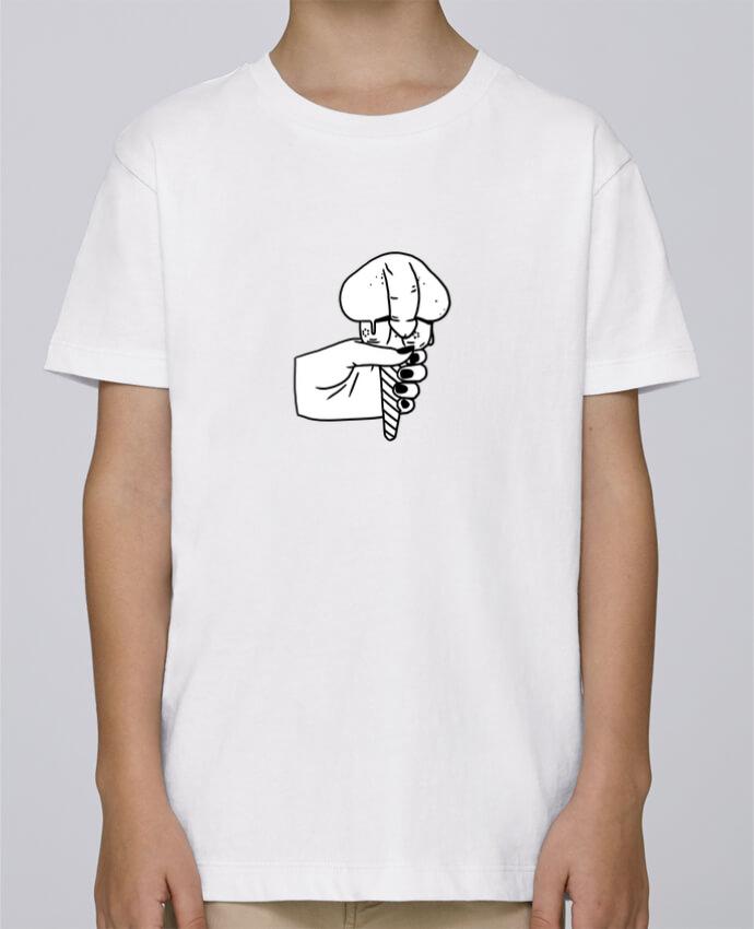 Camiseta de cuello redondo Stanley Mini Paint Ice cream por tattooanshort