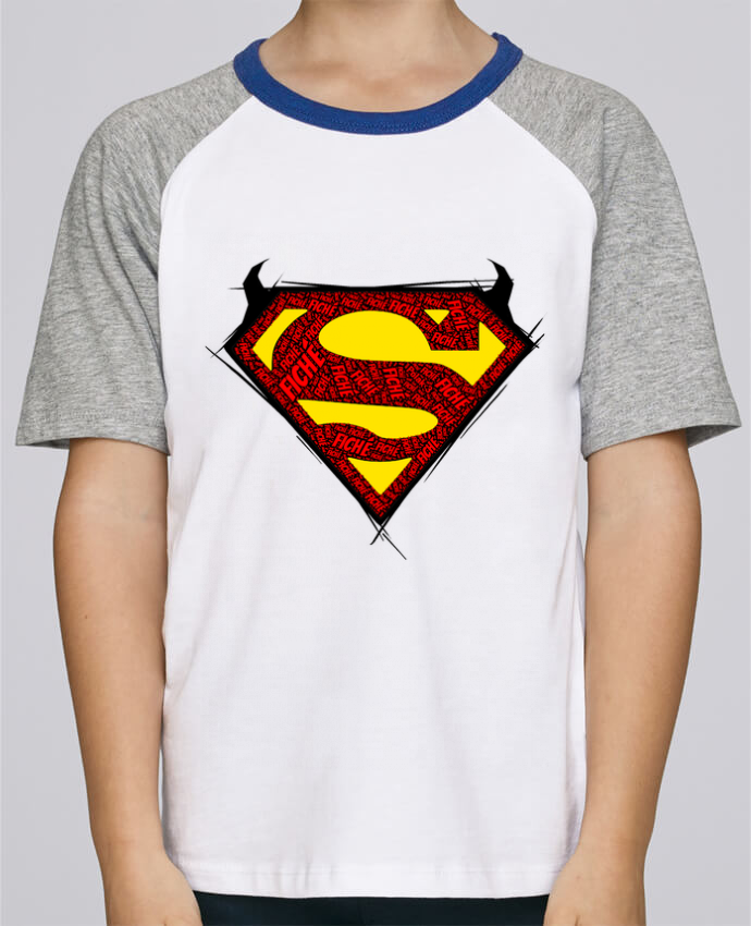 Camiseta de manga ranglan corta en contraste Stanley Mini Jump Short Sleeve Super Fiché por Dontuch