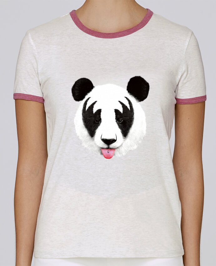 Camiseta Mujer Stella Returns Kiss of a panda pour femme por robertfarkas