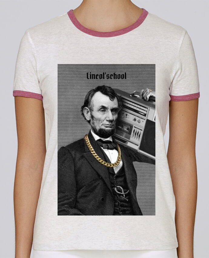 Camiseta Mujer Stella Returns Lincol'school pour femme por Ads Libitum