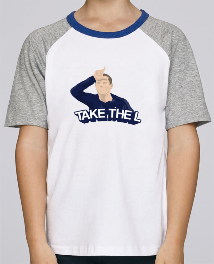 Camiseta de manga ranglan corta en contraste Stanley Mini Jump Short Sleeve Griezmann célébration fortnite por tunetoo
