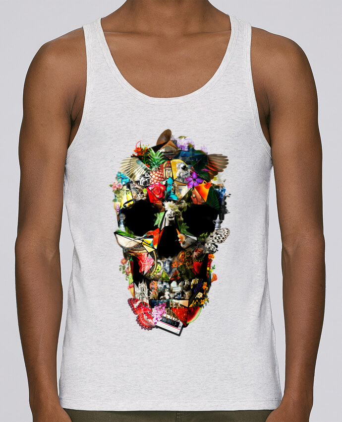 Camiseta de tirantes algodón orgánico hombre Stanley Runs Fragile por ali_gulec 100% coton bio