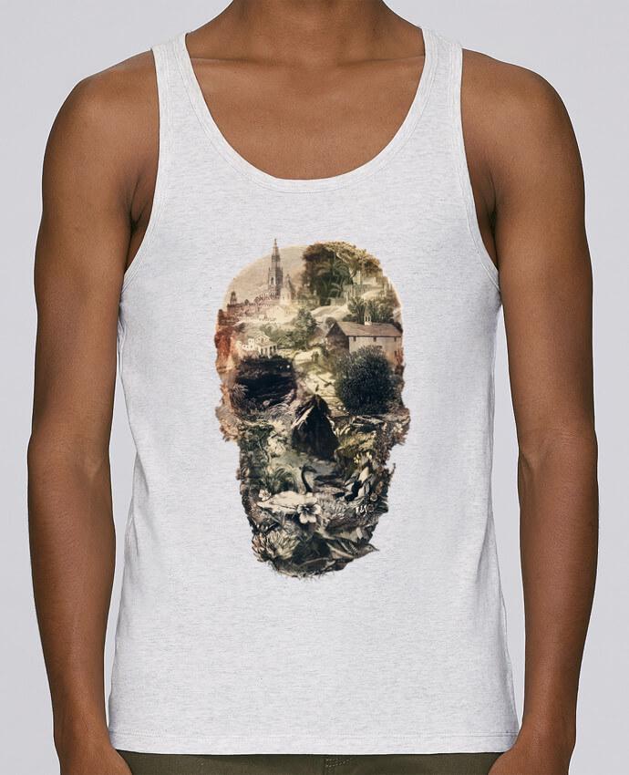 Camiseta de tirantes algodón orgánico hombre Stanley Runs Skull town por ali_gulec 100% coton bio