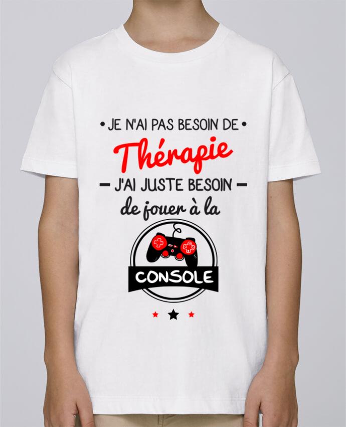 Camiseta de cuello redondo Stanley Mini Paint Tee shirt marrant pour geek,gamer : Je n'ai pas besoin de thérapie, j'ai juste beso