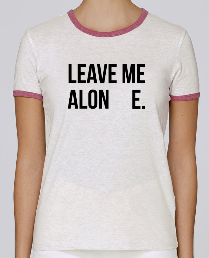 Camiseta Mujer Stella Returns Leave me alone. pour femme por tunetoo