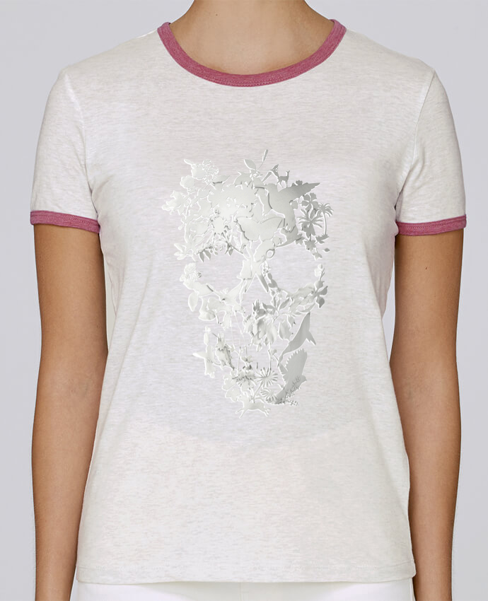 Camiseta Mujer Stella Returns Simple Skull pour femme por ali_gulec
