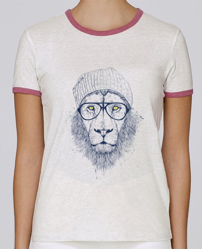 Camiseta Mujer Stella Returns Cool Lion pour femme por Balàzs Solti