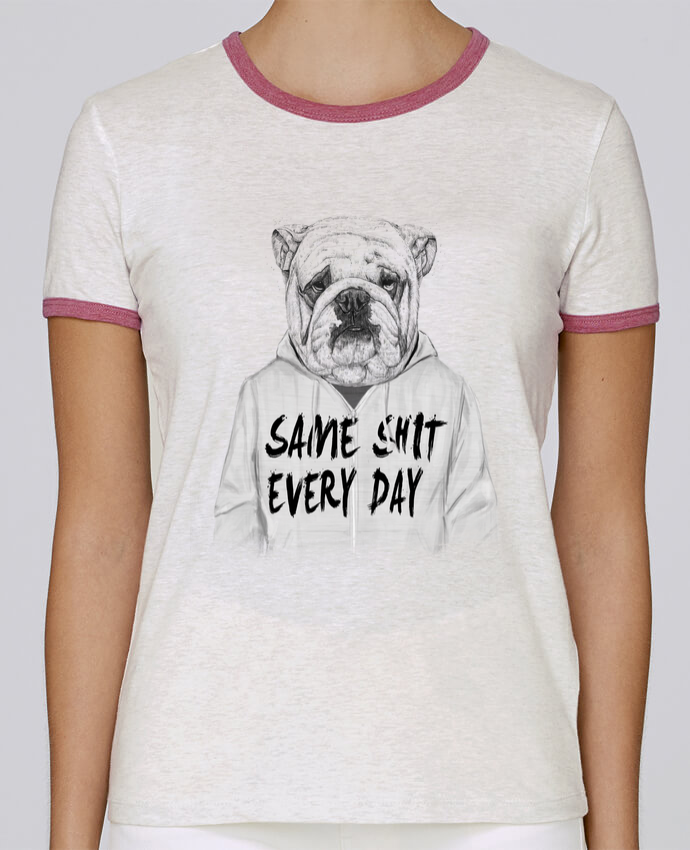Camiseta Mujer Stella Returns Same shit every day pour femme por Balàzs Solti