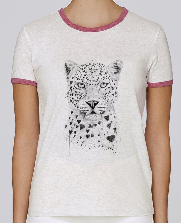 Camiseta Mujer Stella Returns lovely_leopord pour femme por Balàzs Solti