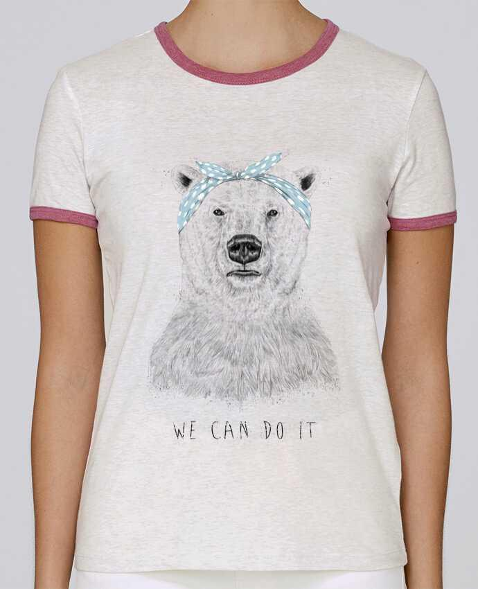 Camiseta Mujer Stella Returns we_can_do_it pour femme por Balàzs Solti