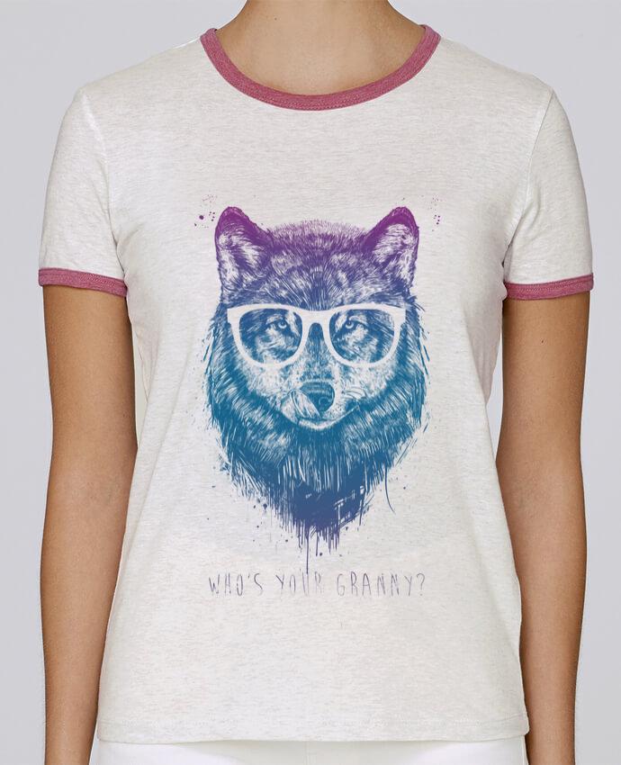 Camiseta Mujer Stella Returns whos_your_granny pour femme por Balàzs Solti