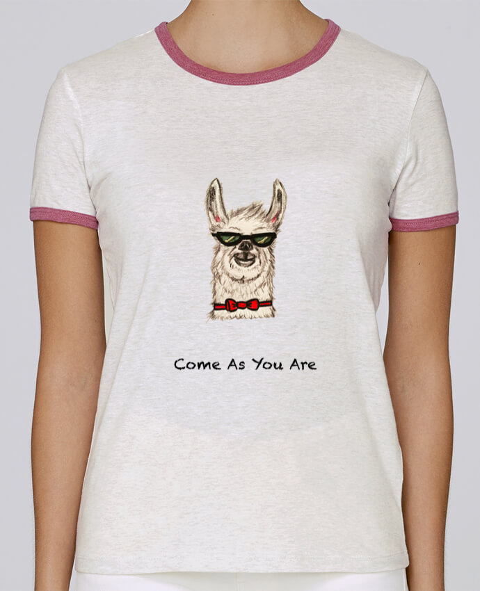 Camiseta Mujer Stella Returns COME AS YOU ARE pour femme por La Paloma